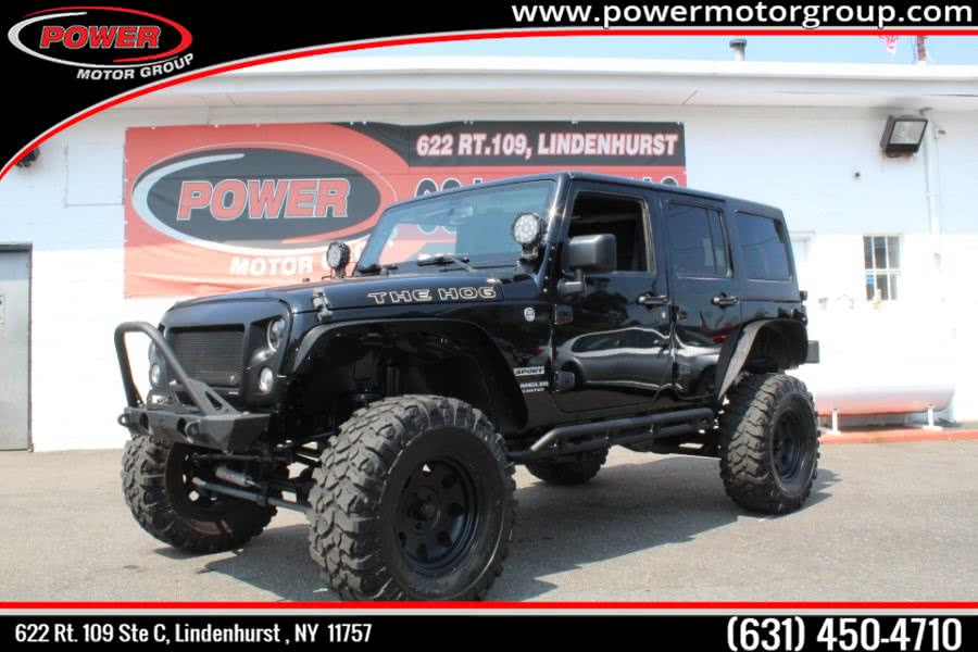Used 2015 Jeep Wrangler Unlimited in Lindenhurst , New York | Power Motor Group. Lindenhurst , New York