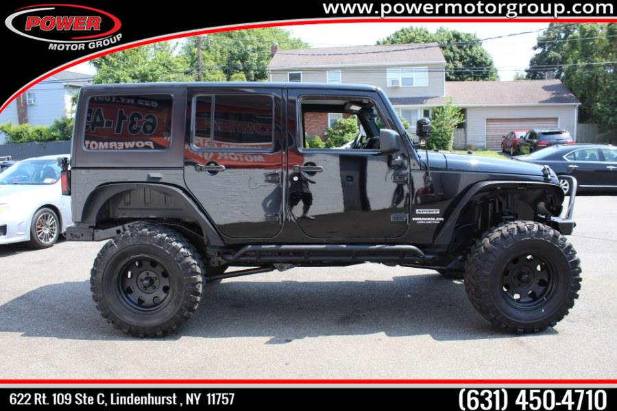 2015 Jeep Wrangler Unlimited 4WD 4dr Sport, available for sale in Lindenhurst , New York | Power Motor Group. Lindenhurst , New York