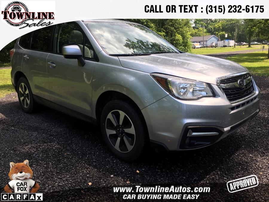 2017 Subaru Forester 2.5i Premium CVT, available for sale in Wolcott, New York | Townline Sales LLC. Wolcott, New York