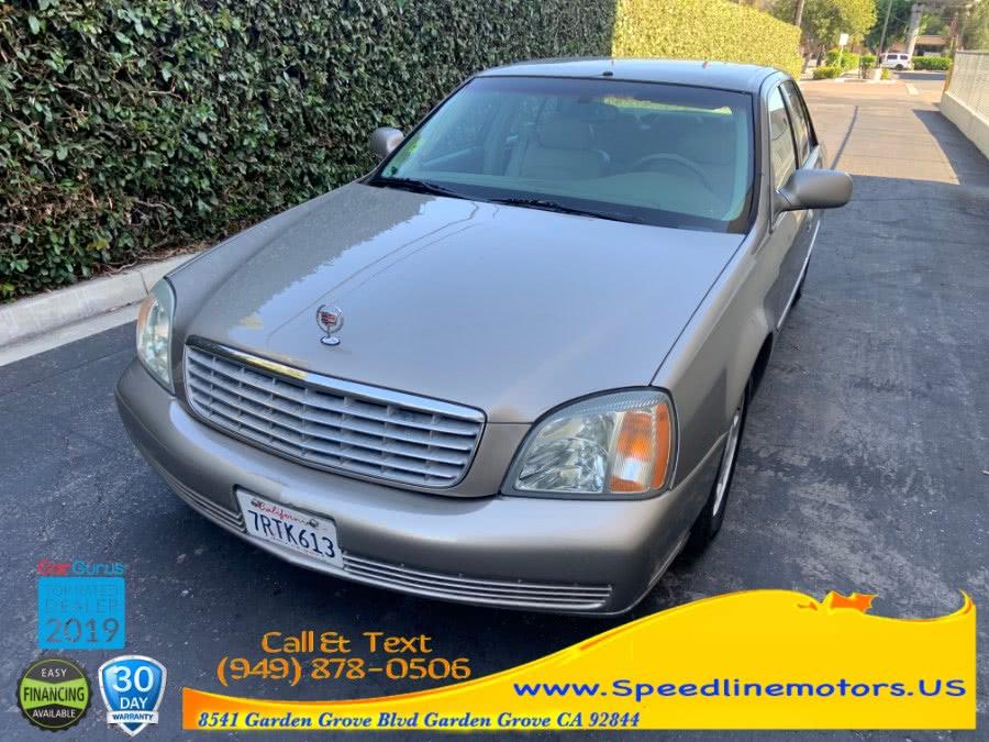 Used 2002 Cadillac DeVille in Garden Grove, California | Speedline Motors. Garden Grove, California