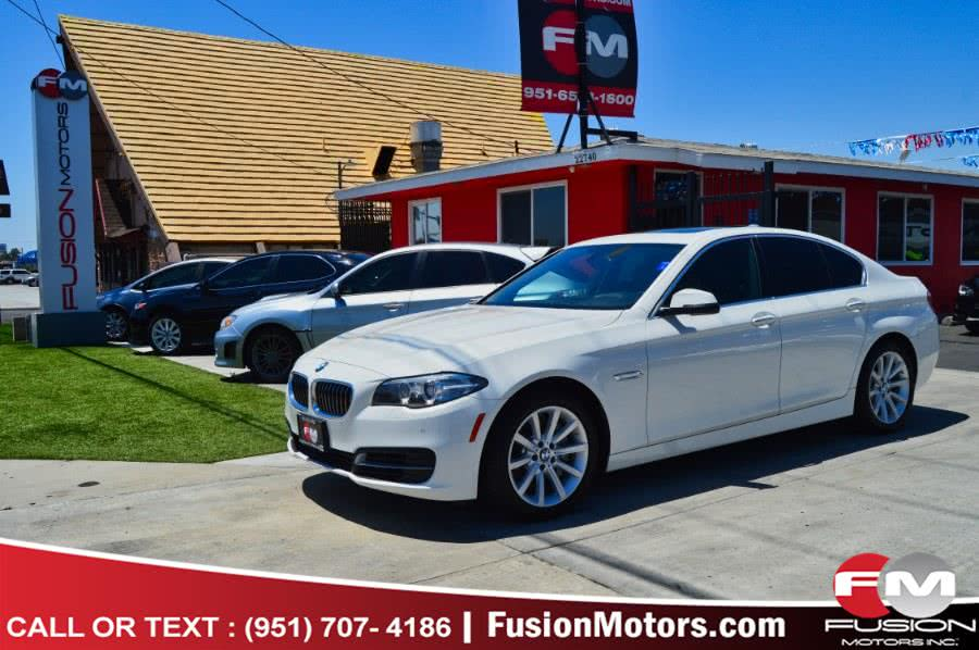 Used 2014 BMW 5 Series in Moreno Valley, California | Fusion Motors Inc. Moreno Valley, California