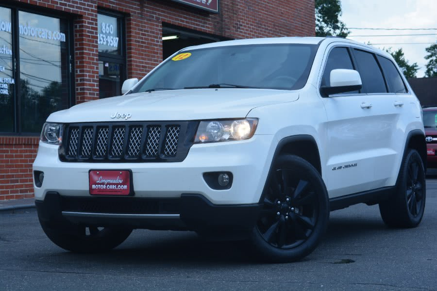 2012 Jeep Grand Cherokee 4WD 4dr Laredo, available for sale in ENFIELD, Connecticut | Longmeadow Motor Cars. ENFIELD, Connecticut