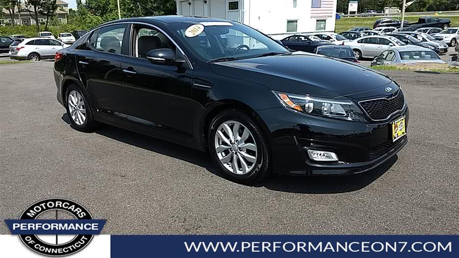 Used Kia Optima 4dr Sdn EX 2014 | Performance Motor Cars. Wilton, Connecticut
