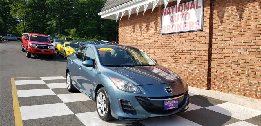 2010 Mazda Mazda3 4dr Sdn Auto i Touring, available for sale in Waterbury, Connecticut | National Auto Brokers, Inc.. Waterbury, Connecticut
