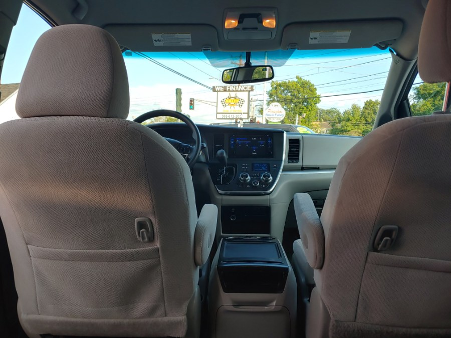 2016 Toyota Sienna 5dr 7-Pass Van LE AWD (Natl), available for sale in Worcester, Massachusetts | Rally Motor Sports. Worcester, Massachusetts