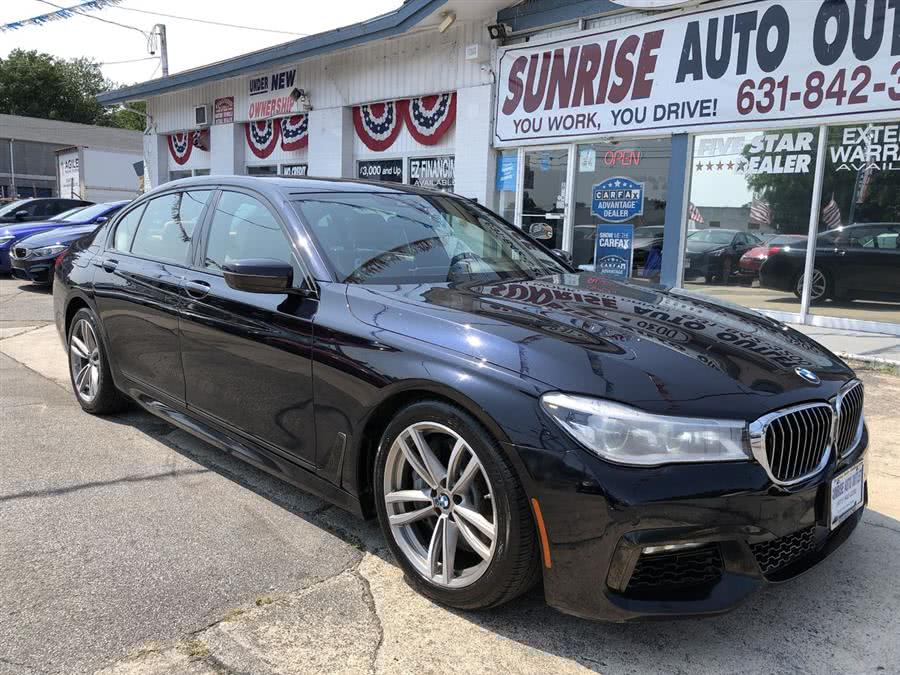 Used 2016 BMW 7 Series in Amityville, New York | Sunrise Auto Outlet. Amityville, New York