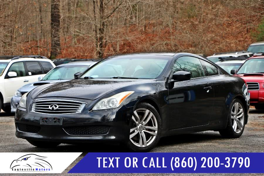 2008 Infiniti G37 Coupe 2dr Journey, available for sale in Storrs, Connecticut | Eagleville Motors. Storrs, Connecticut