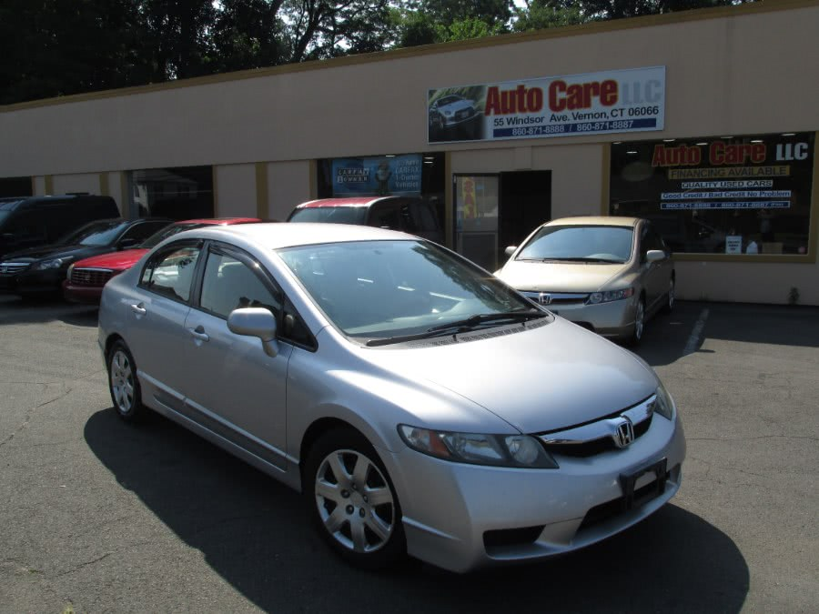 Used 2009 Honda Civic Sdn in Vernon , Connecticut | Auto Care Motors. Vernon , Connecticut