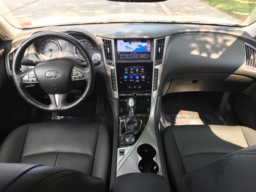 2015 Infiniti Q50 4dr Sdn Premium AWD, available for sale in Franklin Square, New York | Luxury Motor Club. Franklin Square, New York
