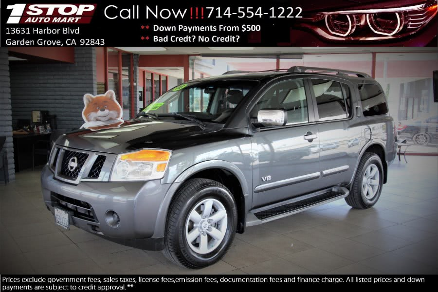 Used 2008 Nissan Armada in Garden Grove, California | 1 Stop Auto Mart Inc.. Garden Grove, California