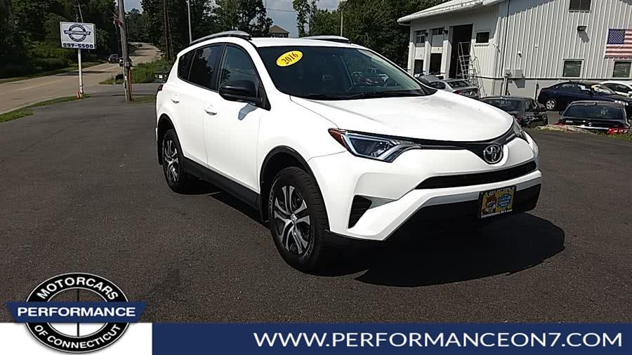 Used 2016 Toyota RAV4 in Wilton, Connecticut | Performance Motor Cars. Wilton, Connecticut