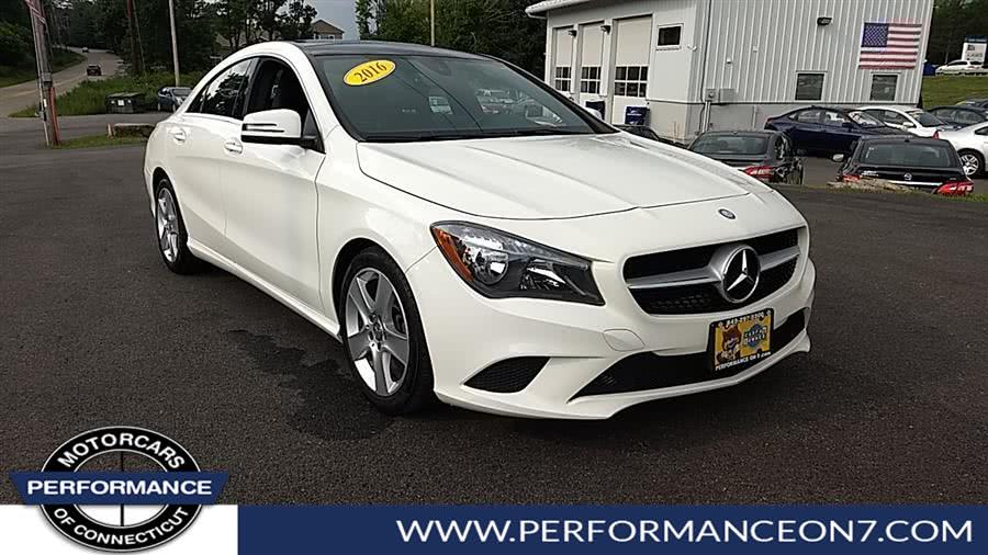 Used Mercedes-Benz CLA 4dr Sdn CLA250 4MATIC 2016 | Performance Motor Cars. Wilton, Connecticut