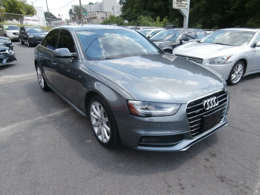 Used 2014 Audi A4 in Waterbury, Connecticut | Jim Juliani Motors. Waterbury, Connecticut