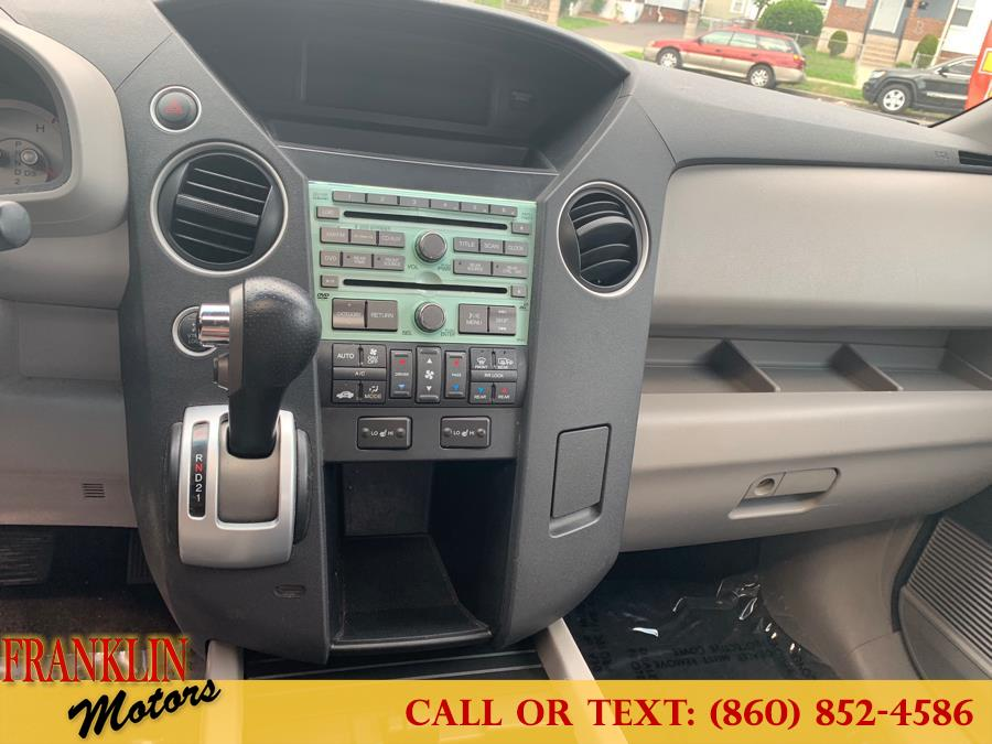 2010 Honda Pilot 4WD 4dr EX-L w/RES, available for sale in Hartford, Connecticut | Franklin Motors Auto Sales LLC. Hartford, Connecticut