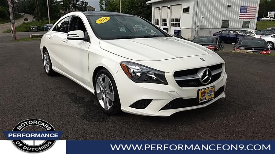 Used Mercedes-Benz CLA 4dr Sdn CLA250 4MATIC 2016 | Performance Motorcars Inc. Wappingers Falls, New York
