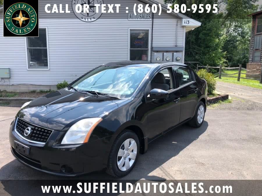 2008 Nissan Sentra 4dr Sdn I4 CVT 2.0 S, available for sale in Suffield, Connecticut | Suffield Auto Sales. Suffield, Connecticut