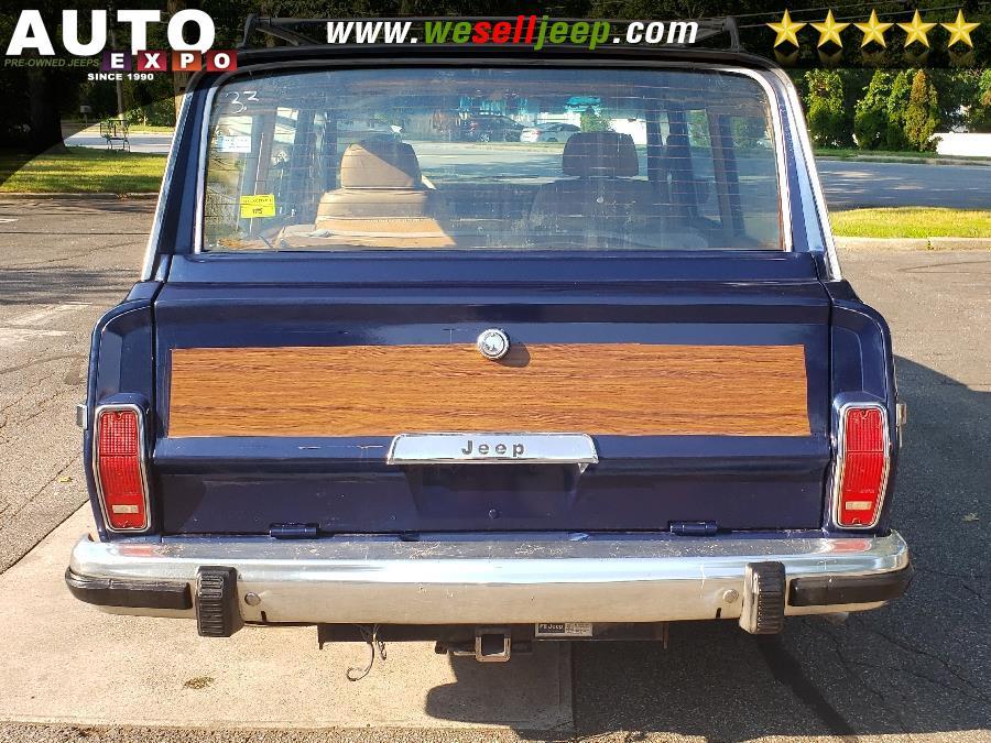 1987 Jeep Grand Wagoneer 4dr Wagon, available for sale in Huntington, New York | Auto Expo. Huntington, New York