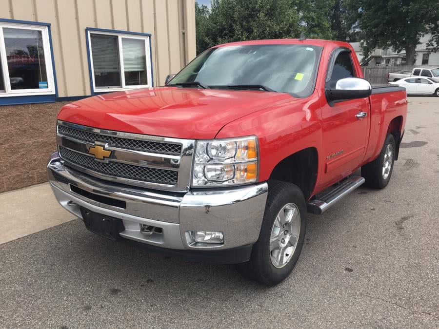 """Used Chevrolet Silverado 1500 4WD Reg Cab 119.0"""" LT 2013   Century Auto And Truck. East Windsor, Connecticut"""