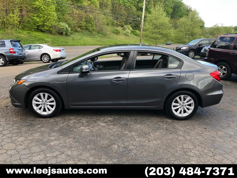 Used 2012 Honda Civic Sdn in North Branford, Connecticut | LeeJ's Auto Sales & Service. North Branford, Connecticut