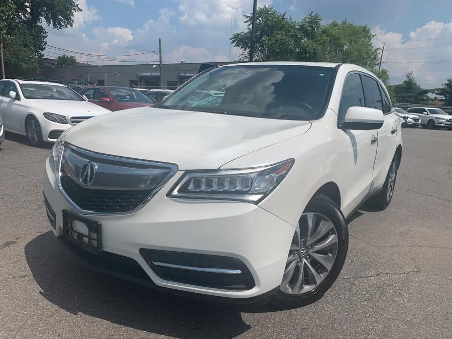 Used Acura MDX SH-AWD 4dr w/Tech 2016 | European Auto Expo. Lodi, New Jersey