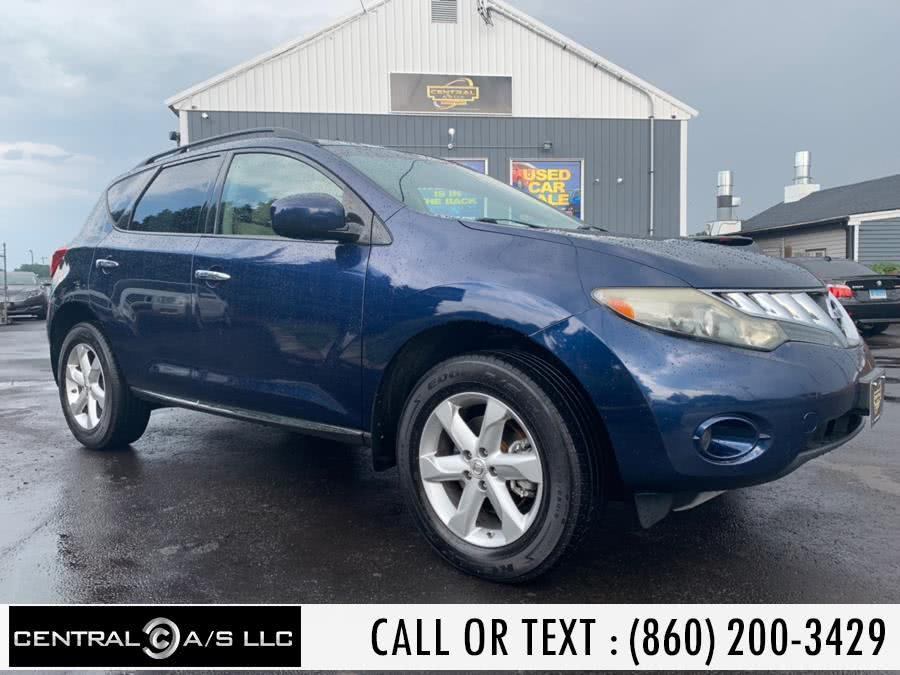 Used Nissan Murano AWD 4dr SL 2009 | Central A/S LLC. East Windsor, Connecticut