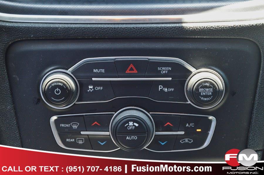 Used Dodge Charger SXT Plus RWD 2018 | Fusion Motors Inc. Moreno Valley, California