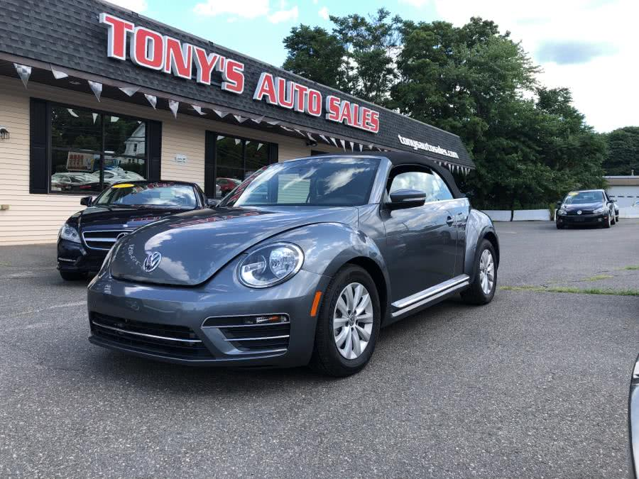Used 2018 Volkswagen Beetle Convertible in Waterbury, Connecticut | Tony's Auto Sales. Waterbury, Connecticut