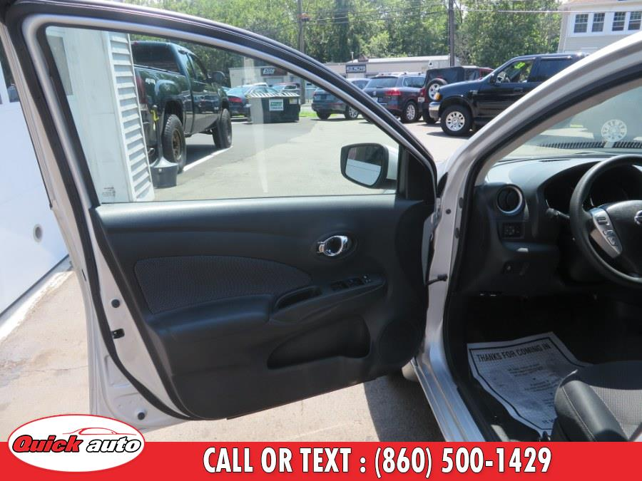 2015 Nissan Versa 4dr Sdn CVT 1.6 SV, available for sale in Bristol, Connecticut | Quick Auto LLC. Bristol, Connecticut