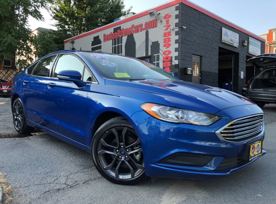 2018 Ford Fusion SE FWD BACKUP CAMERA, available for sale in Chelsea, Massachusetts | Boston Prime Cars Inc. Chelsea, Massachusetts