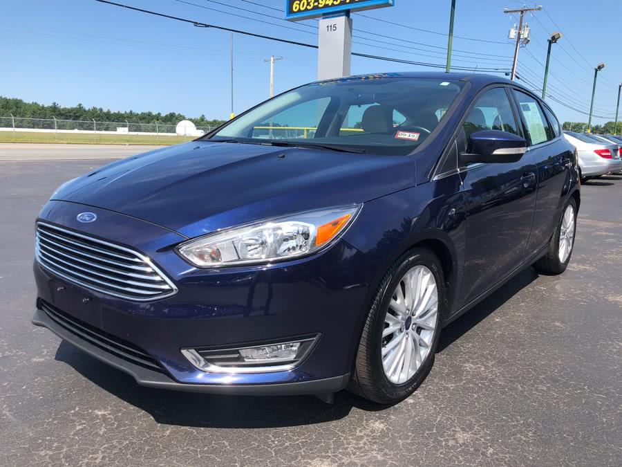 Used Ford Focus Titanium Hatchback 2016 | RH Cars LLC. Merrimack, New Hampshire