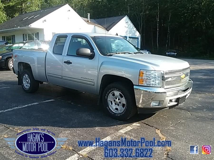 """2012 Chevrolet Silverado 1500 4WD Ext Cab 143.5"""" LT, available for sale in Rochester, NH"""