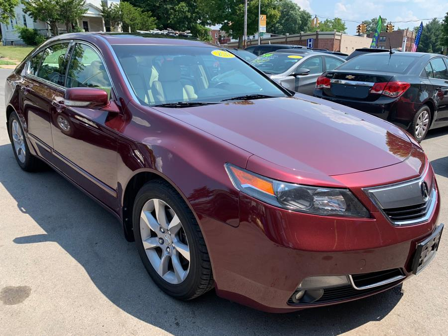 2012 Acura TL 4dr Sdn Auto 2WD, available for sale in New Britain, Connecticut | Central Auto Sales & Service. New Britain, Connecticut