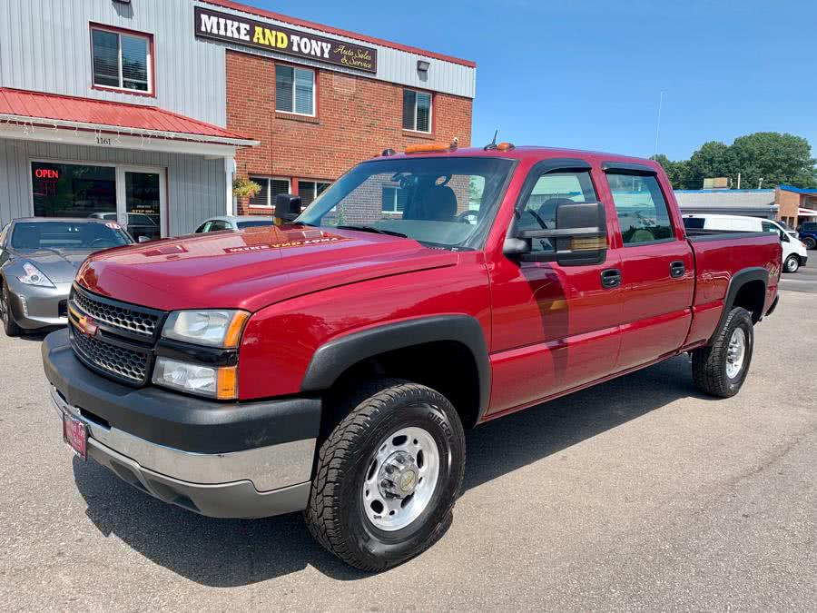 Used 2005 Chevrolet Silverado 2500HD in South Windsor, Connecticut | Mike And Tony Auto Sales, Inc. South Windsor, Connecticut