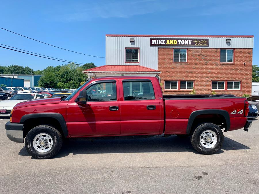 "Used Chevrolet Silverado 2500HD Crew Cab 153"" WB 4WD LS 2005 