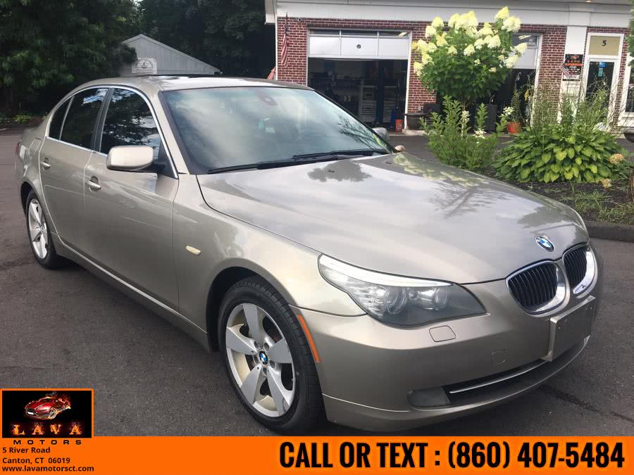 Used 2008 BMW 5 Series in Canton, Connecticut | Lava Motors. Canton, Connecticut