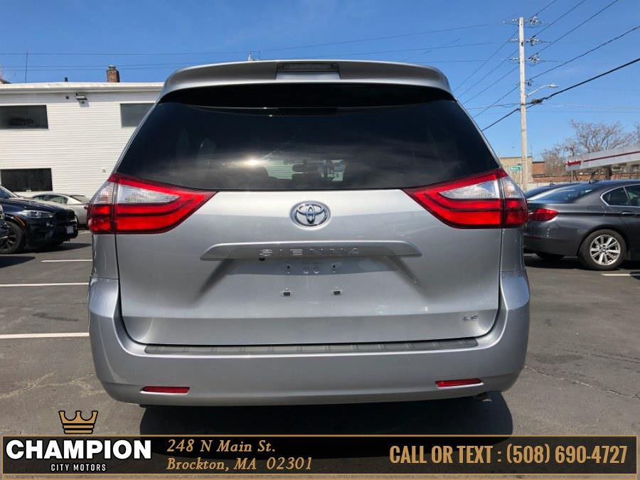 2016 Toyota Sienna 5dr 8-Pass Van LE FWD (Natl), available for sale in Brockton, Massachusetts | Champion City Motors. Brockton, Massachusetts
