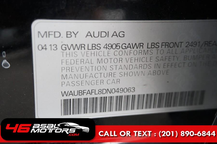 2013 Audi A4 4dr Sdn Auto quattro 2.0T Premium, available for sale in East Rutherford, New Jersey | Asal Motors. East Rutherford, New Jersey