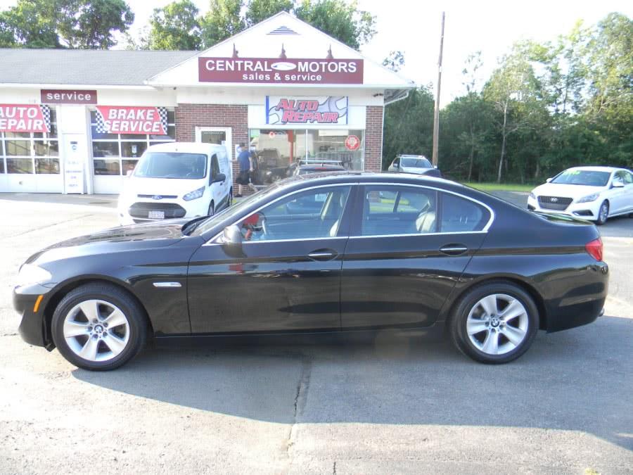 Used 2013 BMW 5 Series in Southborough, Massachusetts   M&M Vehicles Inc dba Central Motors. Southborough, Massachusetts