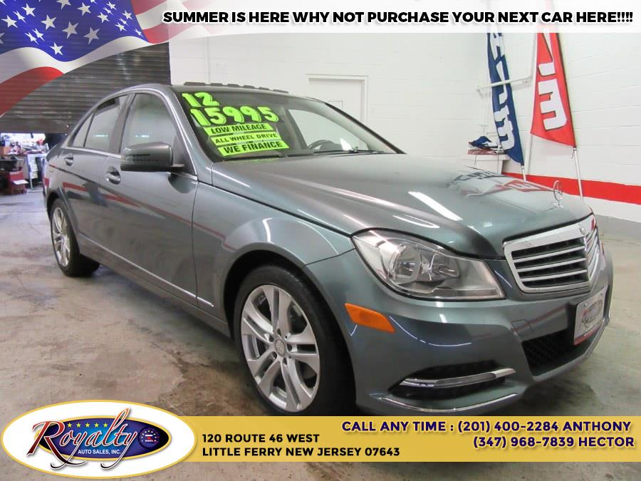 2012 Mercedes-Benz C-Class 4dr Sdn C300 Sport 4MATIC, available for sale in Little Ferry, New Jersey | Royalty Auto Sales. Little Ferry, New Jersey