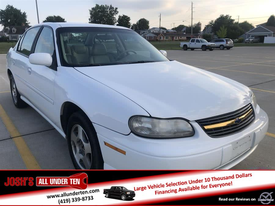 2003 Chevrolet Malibu 4dr Sdn LS, available for sale in Elida, Ohio   Josh's All Under Ten LLC. Elida, Ohio