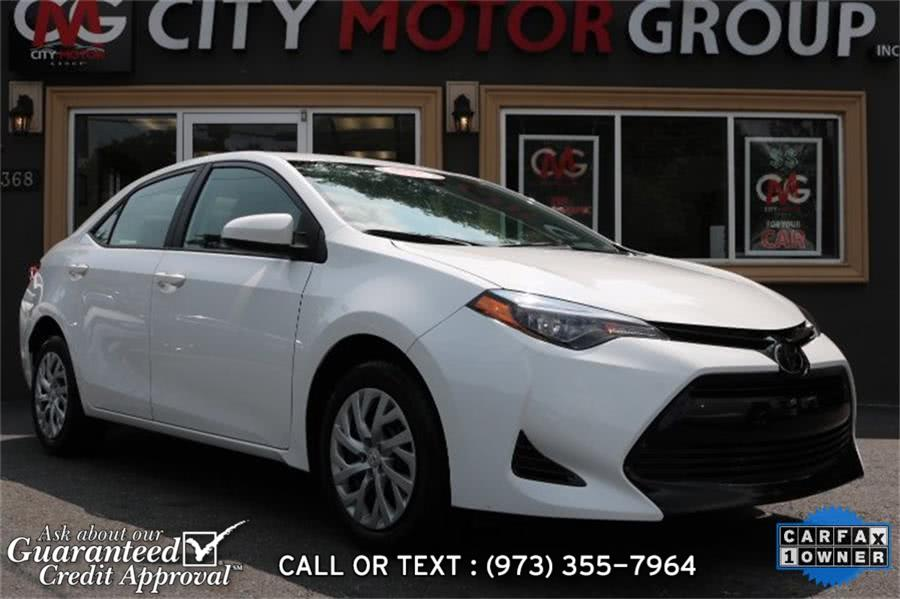 Used Toyota Corolla LE 2018 | City Motor Group Inc.. Haskell, New Jersey