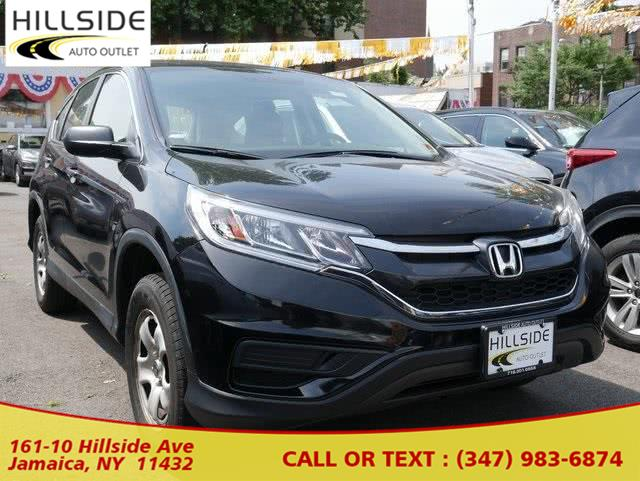 2016 Honda Cr-v LX, available for sale in Jamaica, New York | Hillside Auto Outlet. Jamaica, New York