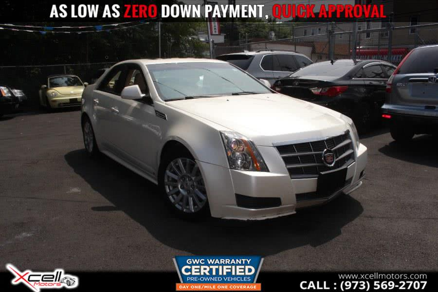 Used 2010 Cadillac CTS Sedan/AWD in Paterson, New Jersey | Xcell Motors LLC. Paterson, New Jersey