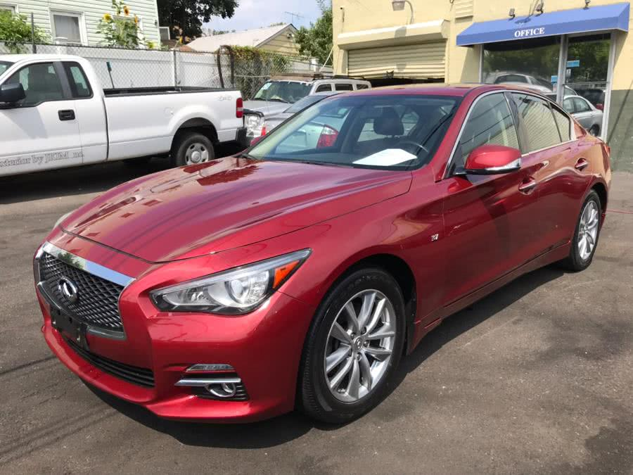 2014 Infiniti Q50 4dr Sdn AWD, available for sale in Jamaica, New York | Sunrise Autoland. Jamaica, New York