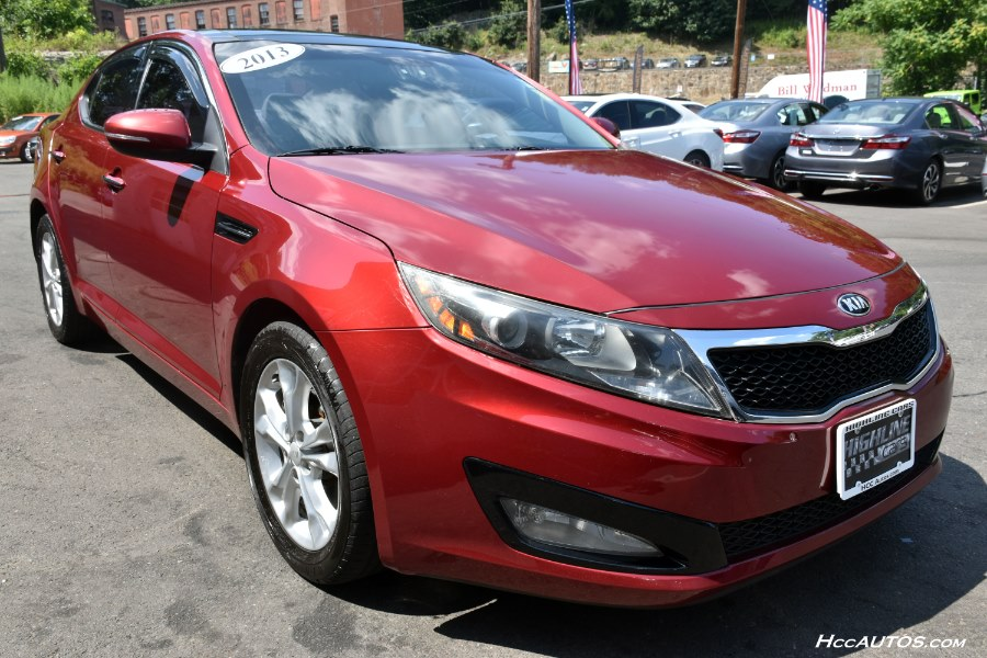 2013 Kia Optima 4dr Sdn EX, available for sale in Waterbury, Connecticut | Highline Car Connection. Waterbury, Connecticut