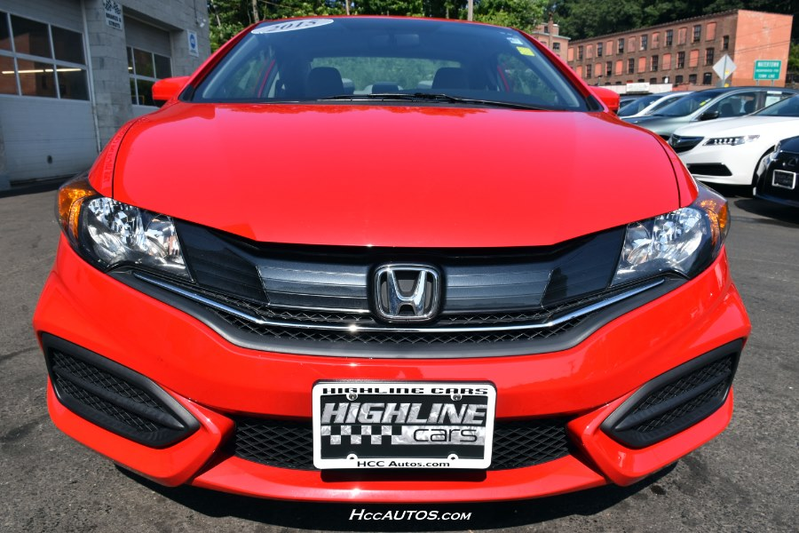 2015 Honda Civic Coupe 2dr CVT LX, available for sale in Waterbury, Connecticut | Highline Car Connection. Waterbury, Connecticut