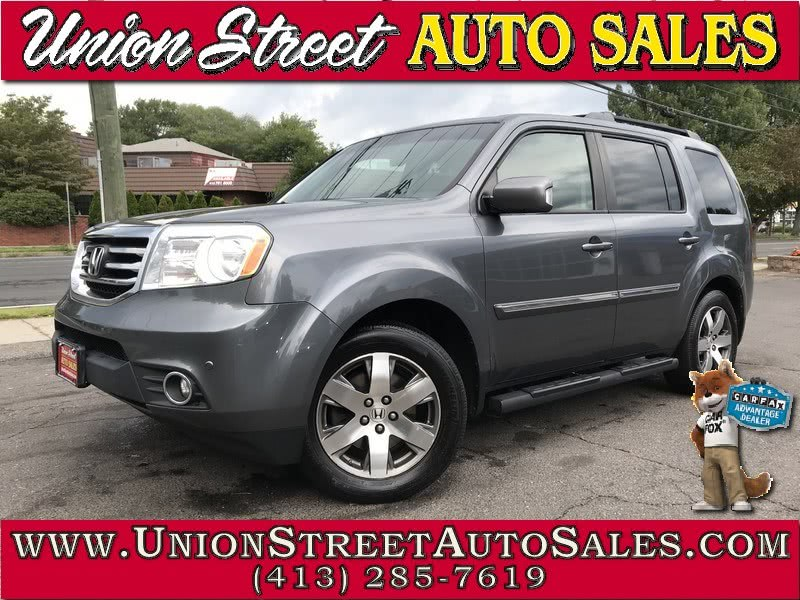 2012 Honda Pilot 4WD 4dr Touring w/RES & Navi, available for sale in West Springfield, MA