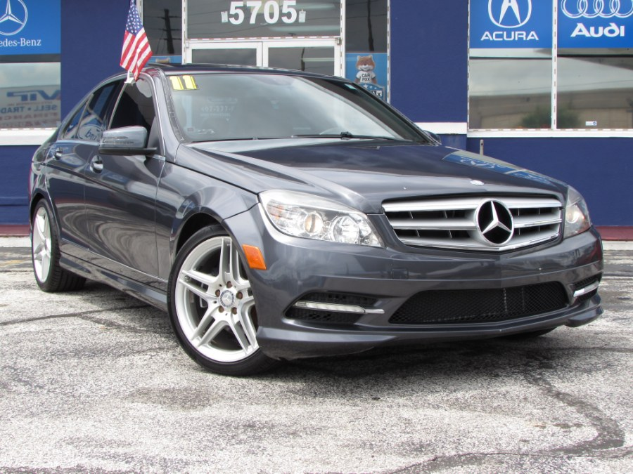 Used Mercedes-Benz C-Class 4dr Sdn C 300 Sport RWD 2011 | VIP Auto Enterprise, Inc. Orlando, Florida