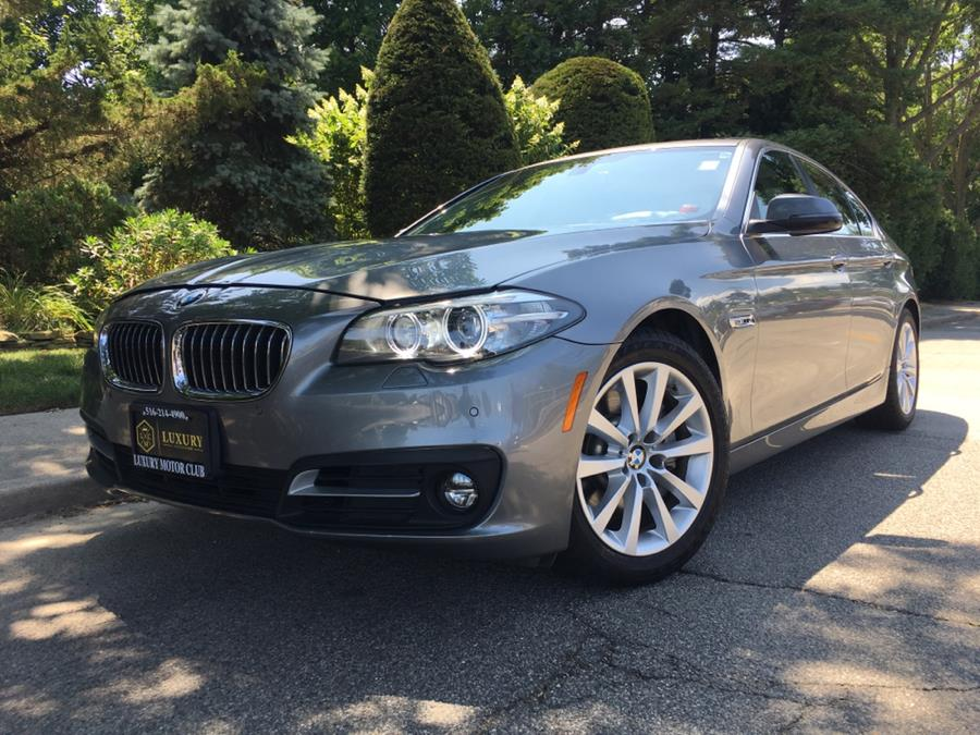 2016 BMW 5 Series 4dr Sdn 535i xDrive AWD, available for sale in Franklin Square, New York | Luxury Motor Club. Franklin Square, New York