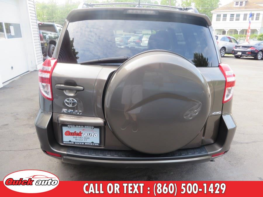 Used Toyota RAV4 4WD 4dr I4 (Natl) 2012 | Quick Auto LLC. Bristol, Connecticut
